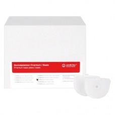Combi Flex tartozék, 100-as csomag, Sockelplatten Basic fehér, klein