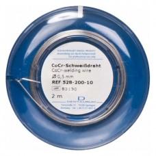 CoCr Schfehérdraht Rolle 2 m Draht, Ø 0,5 mm