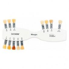 IPS d.SIGN® A-D Farbschlüssel, 1 darab, Farbschlüssel margin