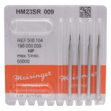 Fúró (23 R) (ISO 9), Kézidarab (HP, Ø 2,35 mm, ISO 104, 44,5 mm) ISO 9 kerek, ISO-Forma 196, Keményfém, 5 darab