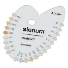 Signum matrix, Színkulcs, 1 darab