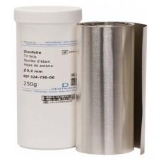 Cinn fólia, (114 cm x 100 mm x 0,3 mm), Tekercs, 250 g, 1 darab