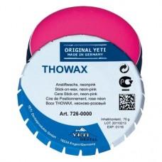 Thowax stick-on, Csapviasz, Doboz, rózsaszín, 70 g, 1 darab