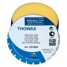 Thowax sticky, Ragasztóviasz, Doboz, bézs, 70 g, 1 darab