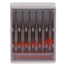 Acél fúró (ISO 14), Könyökdarab (CA, Ø 2,35 mm, ISO 204, 22 mm) ISO 14 forgó, Acél, 6 darab