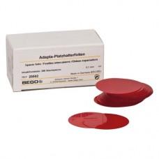 Adapta, Helyfenntartó fólia, Doboz, piros, 100 µm (0,1 mm), 200 darab