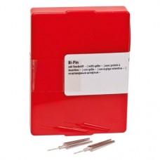 Bi-Pin mit Steckstift, 10 darab, ohne Hülse lang
