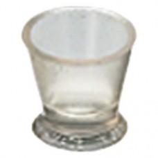 Resimix (Small), Pohár, átlátszó, Szilikon, S (kicsi), 3 darab