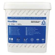 HinriDie, Szuperkemény gipsz, Vödör, zöld, ISO Típus 5, 5 kg ( 11 lbs ), 1 darab