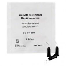 Blue Blokker micro, Kanül, 0,4 mm, 5 darab