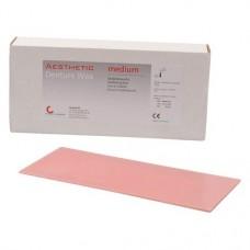Aesthetic Denture Wax, Modellviasz, Lapok, középkemény, rózsaszín, 500 g, 1 Csomag