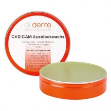 CAD-CAM, Kiblokkoló viasz, Doboz, világoszöld, 60 g, 1 darab