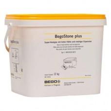 BegoStone plus, Szuperkemény gipsz, Vödör, elefántcsontszínu, ISO Típus 4, 12 kg, 1 darab