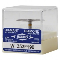 Diamantscheibe 353 darab, gelb ISO 190, RA