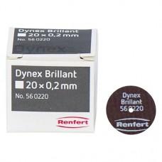 Dynex Brillant - Packung 10 Stück 0,2 x 20 mm