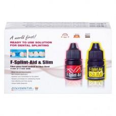 F-Splint-Aid, -Slim Intro, használatra kész, impregnált üvegszálas szalag készlet