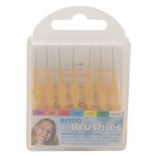 Beyco Brushies Packung 7 darab, gelb Ø 0,7 mm