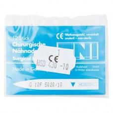 Chirugische Nadeln Packung 12 Nadeln, Figur 10, HSD 430-10