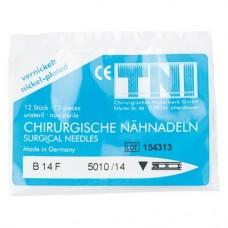 Chirugische Nadeln Packung 12 Nadeln, Figur 14, HSD 450-14