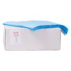 Dentalservietten Karton 1.000 darab, blau, 36 x 36 cm