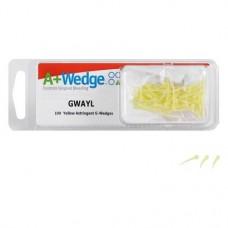A+Wedge™ sárga, 100 darab