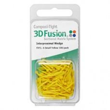Composi-Tight® 3D Fusion™ ék, sárga, ultra-finom, 100 darab