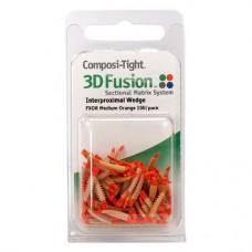 Composi-Tight® 3D Fusion™ ék, narancs, közepes, 100 darab
