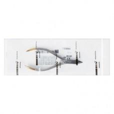 Bird beak-Zange nach Angle, 1 darab, DP309R, 125 mm
