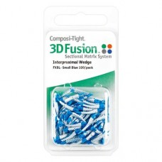 Composi-Tight® 3D Fusion™ ék, kék, kicsi, 100 darab