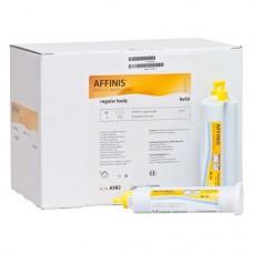 Affinis (50 System) (Regular Body), Lenyomatanyag (A-Szilikon), kartus, ISO Típus 2, közepes konzisztencia, A-szilikon (VPS), 50 ml, 20 darab