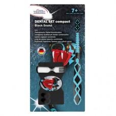 Dental szett, compact Packung Black Snake (1 Zahnbürste, 1 Zahnputzuhr mit Halter) regular
