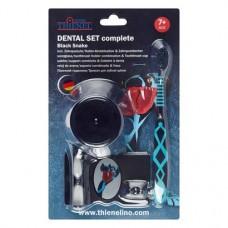 Dental szett, complete Packung Black Snake (1 Zahnbürste, 1 Zahnputzuhr mit Halter) regular