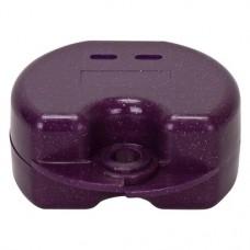 Fogszabályzó tartó doboz (Glitter), ibolya, 1 darab