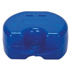 Fogszabályzó tartó doboz (Glitter), kék, 1 darab