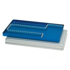 ALUMINIUM TRAY, tálca, kék, 28 x 18 cm, 1 darab