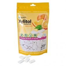 A xilit tartalmú rágógumi - utántöltő csomag 200 db Gyümölcs