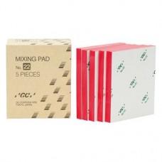 GC Mixing Pad 22, Keveroblokk, Egyszerhasználatos termék, 5 darab