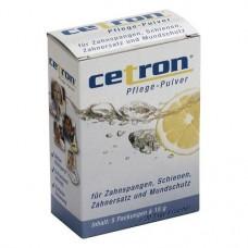 Cetron, Tisztítópor (Fogsorok), Zacskók, 15 g, 5 darab