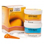 Affinis (Putty Soft Fast), Lenyomatanyag (A-Szilikon), ISO Típus 0, nagyon magas konzisztencia, A-szilikon (VPS), 1:1, 2x1 darab
