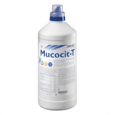 Mucocit T, Fertőtlenítő oldat (műszerek), Üveg, ultrahangos tisztításra alkalmas, aldehidmentes, Koncentrátum: 1%, 2 l, 1 darab
