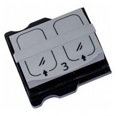 Folienkassette, 1 darab, Gr. 3, 2,7 x 5,4 cm