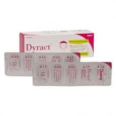 Dyract (A3.5), Tömőanyag (Kompomer), Kapszulák, fluoridtartalmú, röntgenopák, Kompomer, 250 mg, 20 darab
