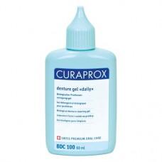Curaprox (Daily), Tisztító-oldat (Fogsorok), Fiola, Gél, 60 ml, 1 darab