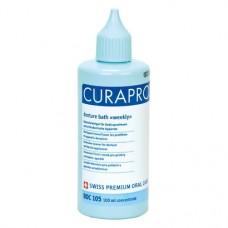 Curaprox (Weekly), Tisztító-oldat (Fogsorok), Fiola, Folyadék, 100 ml, 1 darab