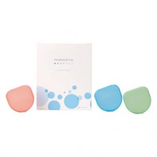 Aufbewahrungsbox Packung 20 darab, farbig (6 x blau, 7 x grün, 7 x melone)