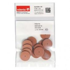 Alphaflex Packung 12 Polierer braun ISO 050, unmontiert