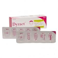Dyract (A2), Tömőanyag (Kompomer), Kapszulák, fluoridtartalmú, röntgenopák, Kompomer, 250 mg, 20 darab