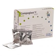 Compoglass F (210), Tömőanyag (Kompomer), Kapszulák, fluoridtartalmú, fényre keményedő, Kompomer, 250 mg, 20 darab
