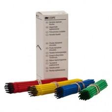 Applikációs ecset, Egyszerhasználatos termék, hajlékony, Műanyag, 30x4 darab