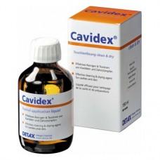 Cavidex, Tisztító - Fertőtlenítő (Kavitások - Korona tuskók), Üveg, 150 ml, 1 darab
